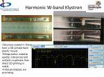 harmonic w band klystron1