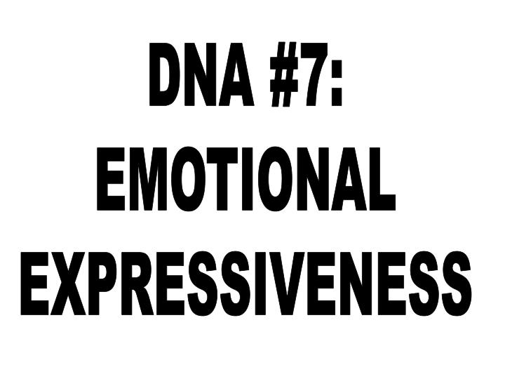DNA #7: