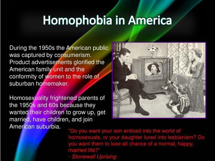 Homophobia in America
