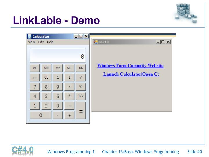 LinkLable