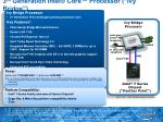 3 rd generation intel core processor ivy bridge