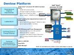 denlow platform