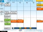 intel solid state drive 5q roadmap