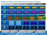ww05 low power ultra dense server processor roadmap