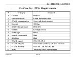 use case 8a its requirements