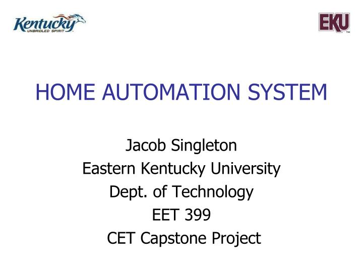 home automation system n.