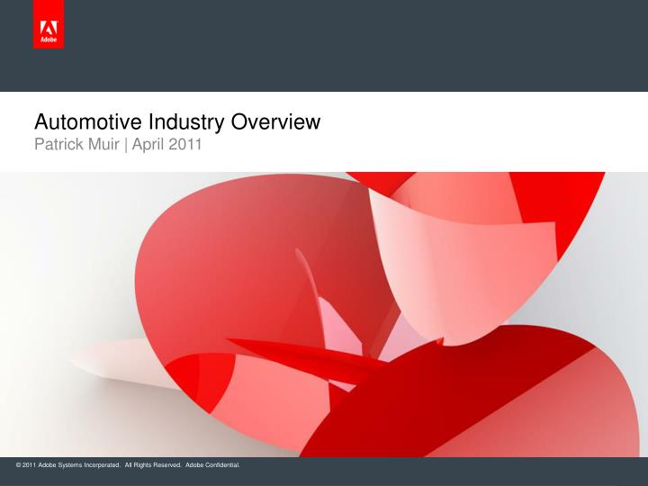 PPT - Automotive Industry Overview PowerPoint Presentation