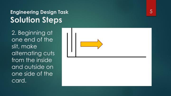 Engineering Design Task