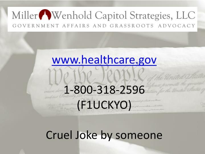 www.healthcare.gov