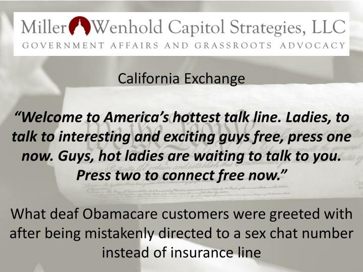 California Exchange