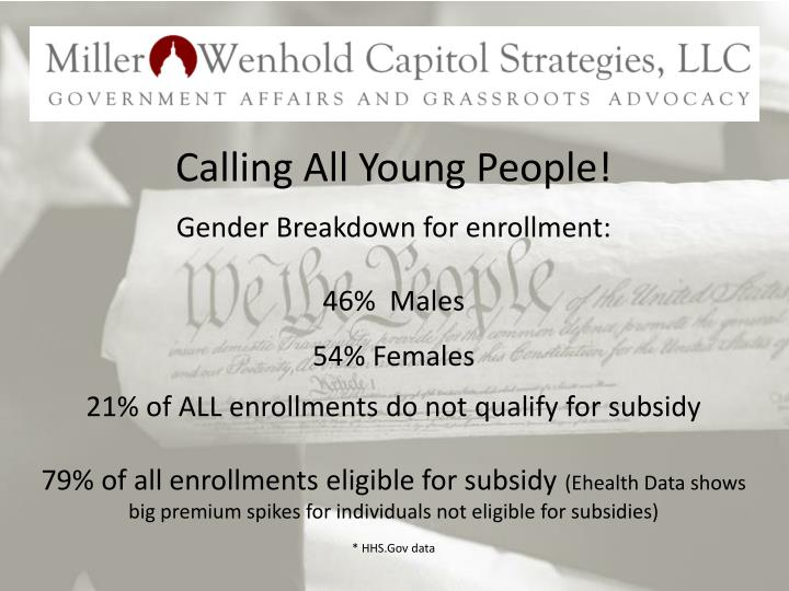 Calling All Young People!