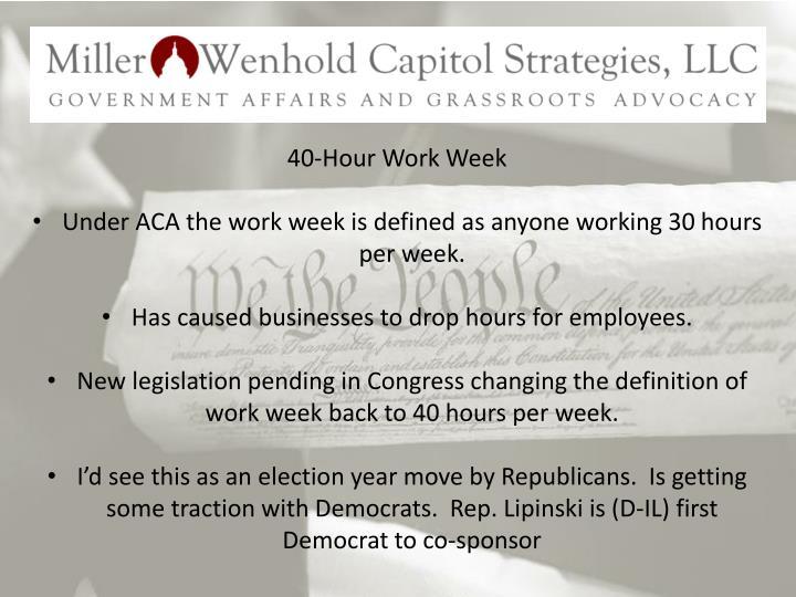 40-Hour Work Week