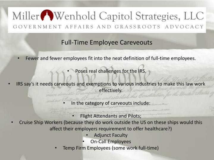 Full-Time Employee