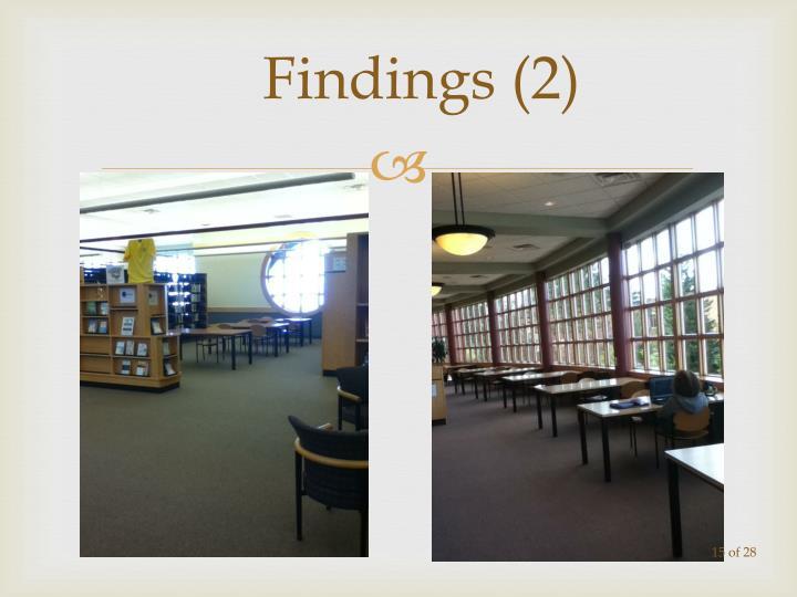 Findings (2)