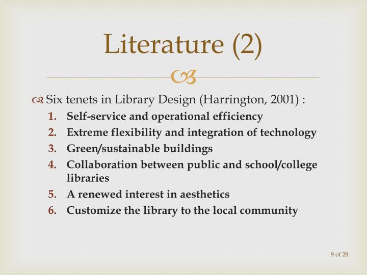 Literature (2)