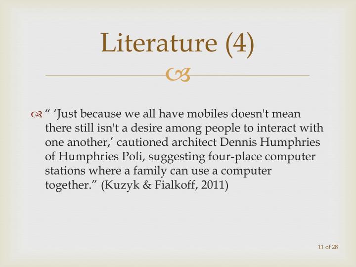 Literature (4)