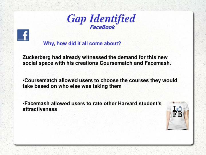 Gap Identified