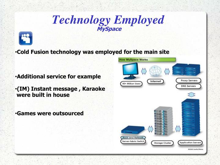 Technology Employed