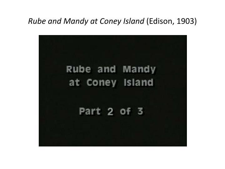 Rube and Mandy at Coney Island