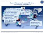 secure autonomous integrated controller for distributed sensor webs