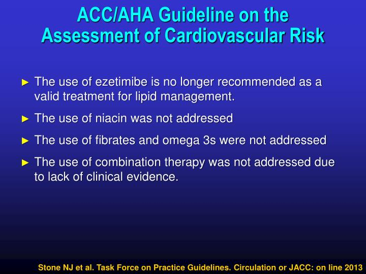 ACC/AHA Guideline on the