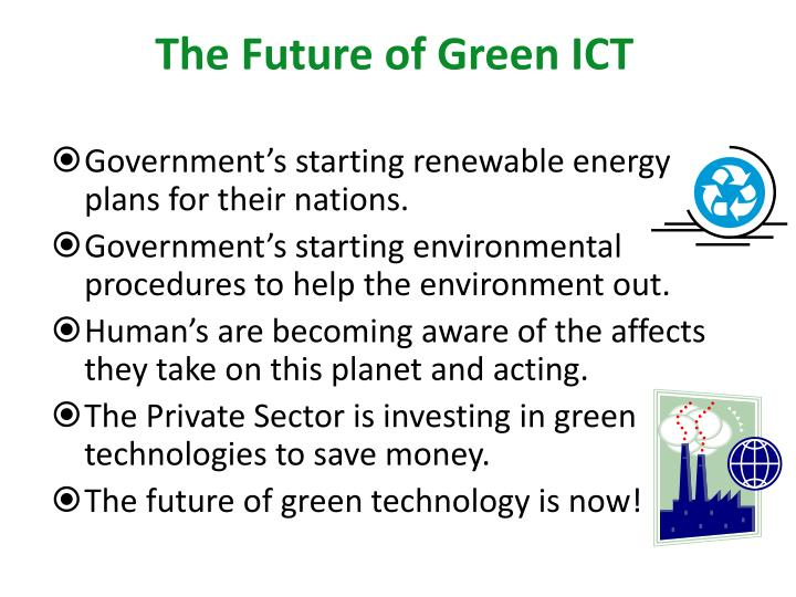The Future of Green ICT
