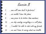 exercise b2