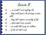 exercise b3