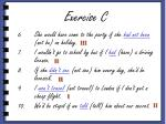 exercise c1