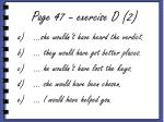 page 47 exercise d 2