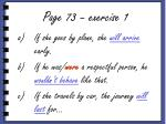 page 73 exercise 1