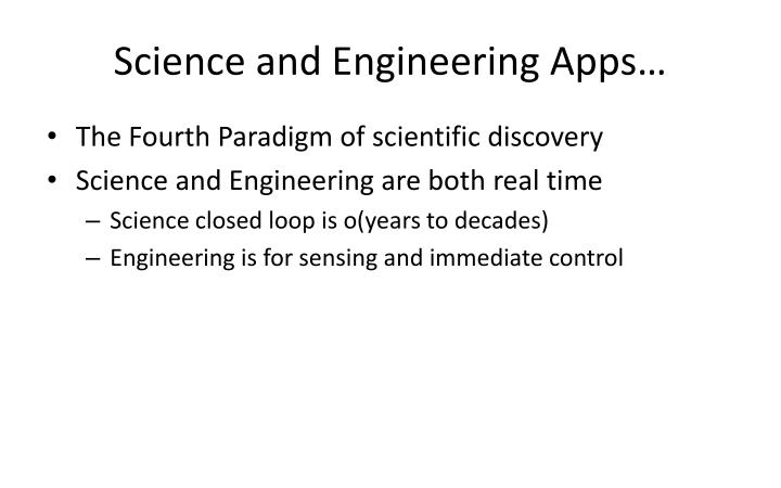 Science and Engineering Apps…