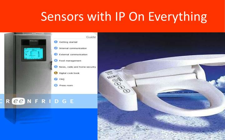 Sensors with IP On Everything