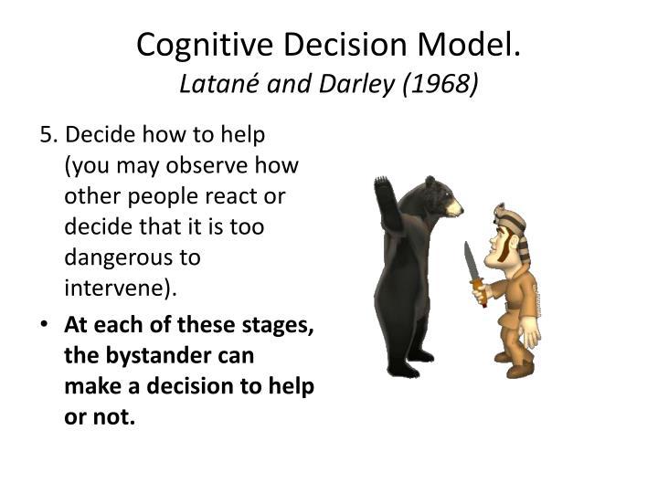 Cognitive Decision Model.