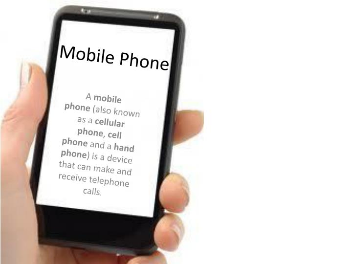 PPT - Mobile Phone PowerPoint Presentation - ID:1548199