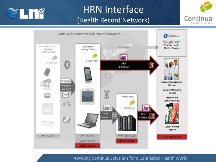 HRN Interface