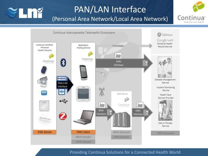 PAN/LAN Interface