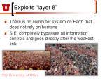 exploits layer 8
