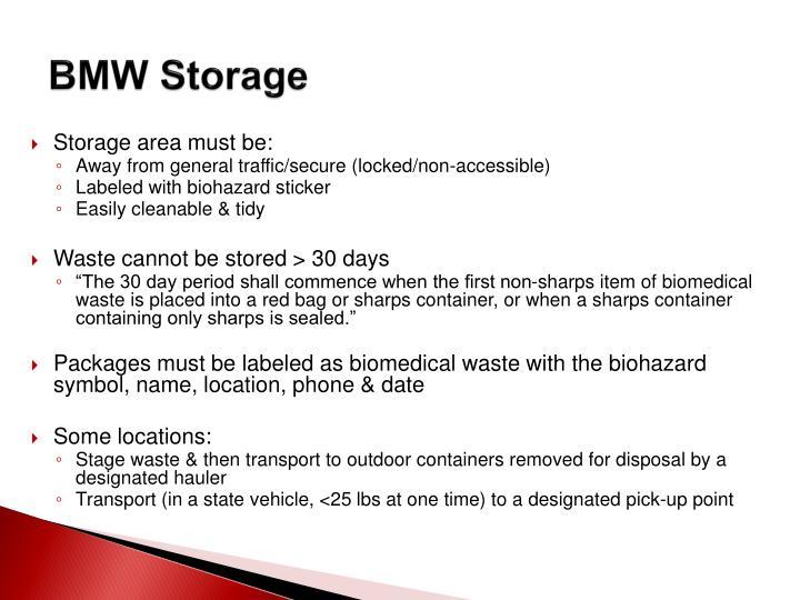 BMW Storage