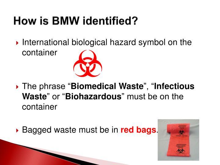 How is BMW identified?