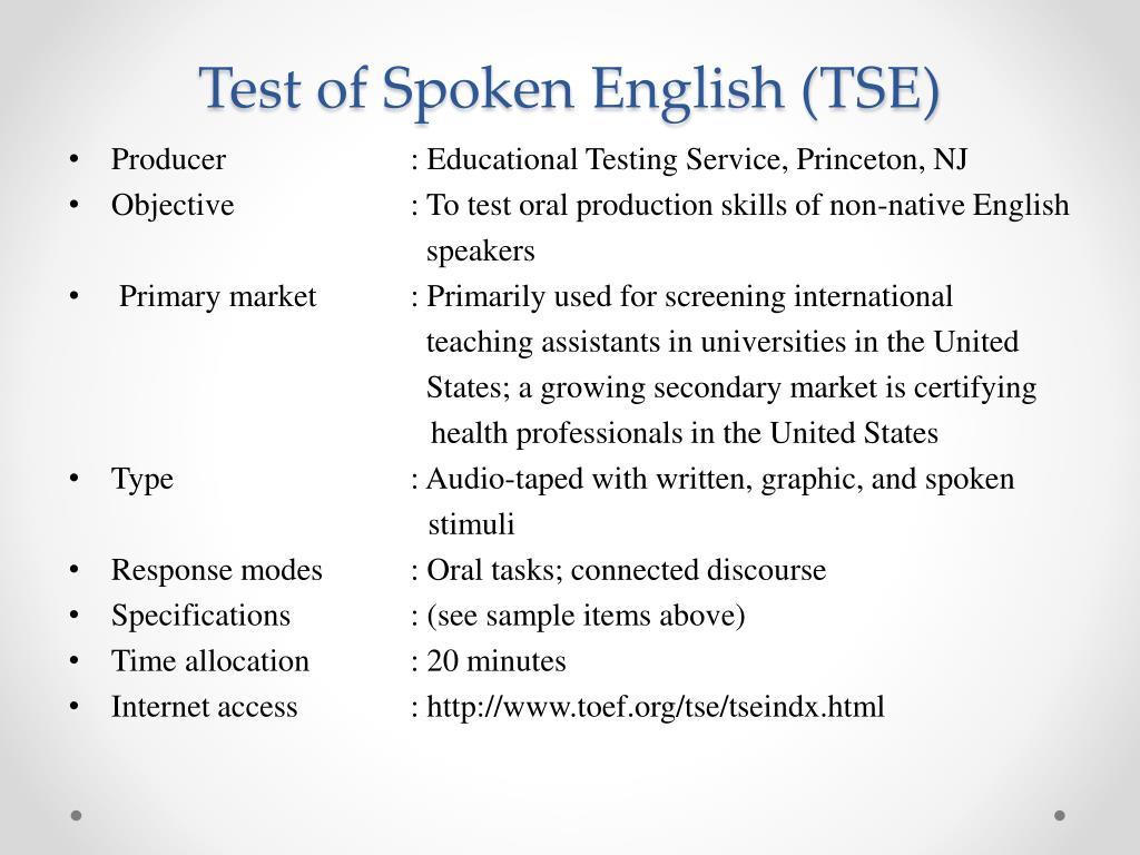 PPT - DESIGNING ASSESSMENT TASKS: RESPONSIVE SPEAKING