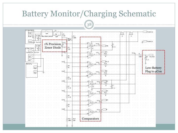 Battery Monitor/Charging Schematic