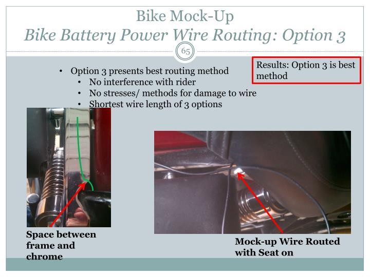 Bike Mock-Up