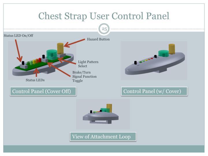 Chest Strap User Control Panel