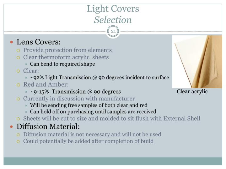Light Covers