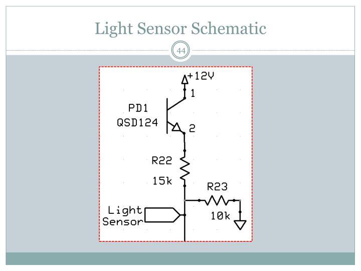 Light Sensor Schematic