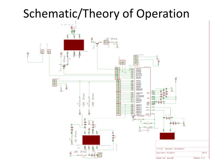 Schematic/Theory of Operation