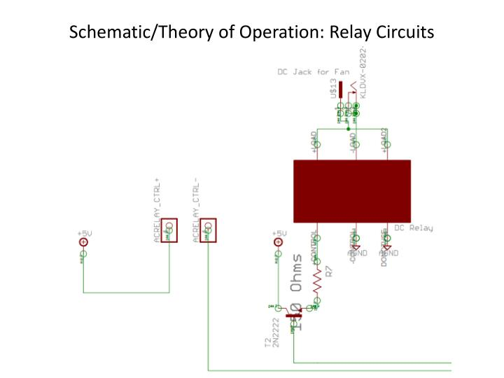 Schematic/Theory of Operation: Relay Circuits