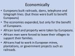 economically