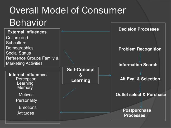 internal and external influences on consumer behavior